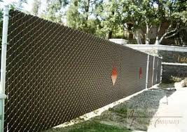 chain link fence privacy screen. Be Inspired: A Chain Link Fence Is Blank Canvas Privacy Screen