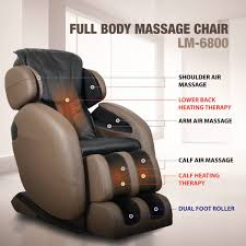 com kahuna massage chair space saving zero gravity full recliner lm6800 with yoga heating therapy brown health personal care