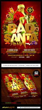 toy drive graphics graphiclib bad santa flyer template