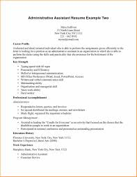 Examples Of Cover Letters For Resumes For Administrative Assistants