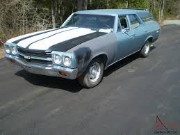 Chevelle station wagon