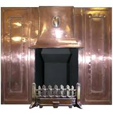 copper fireplace cleaning surround