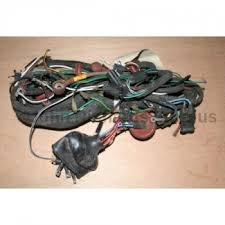 land rover engine wiring harness series 2 2a land rover series main wiring harness 24v 54936298