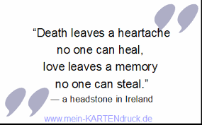 Englisch Trauersprüche Proverbs Quotations About Grief Mourni