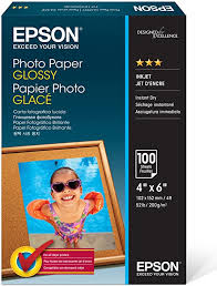 Epson Photo Paper Glossy - Borderless - S042038, 4 ... - Amazon.com
