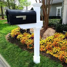 Dual Mailbox Post Plus Fancy Double Mailbox Post By Dual Mailbox