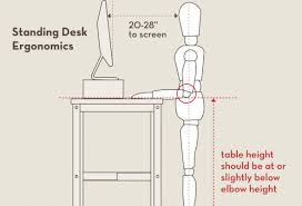 full size of desk standing desk height for 56 awesome desk height calculator new small