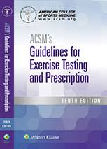 Acsm Vo2max Norms Chart Acsms Guidelines For Exercise Testing And Prescription