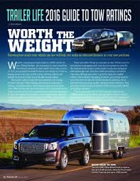 Airstream Weight Chart Travel Trailer Towing Guides Important Information