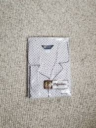 Haband Men S Size Chart Nwt Vintage Mens Pajama Set 3xl White Brown New