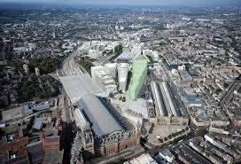 google head office. Google London HQ Aerial Head Office F