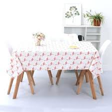 ikea round tablecloth table cloth customized cotton and linen net red lattice ins wind tea waterproof ikea round tablecloth