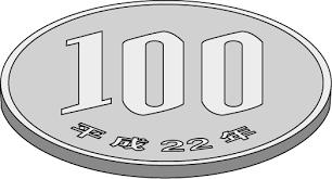 お金のイラスト百円硬貨 Money04a02pngダウンロードページ 無料