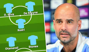 Man City team news: Predicted 4-3-3 line up vs Norwich – Guardiola ...