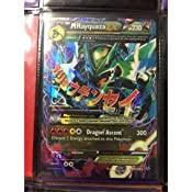 Mega rayquaza ex is a special pokemon card which is very rare. Amazon Com Pokemon Mega Rayquaza Ex 61 108 Xy Roaring Skies Holo Toys Games
