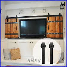 3 4 5 6 6 6 7 8 9ft mini small sliding barn door hardware kit j shape cabinet