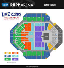 Luke Combs Seating Chart Luke Combs Sold Out Rupp Arena