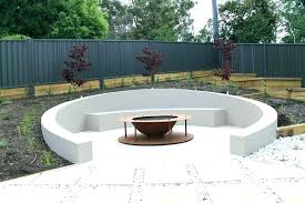 fire pit seating area size circular outdoor full of 0 with