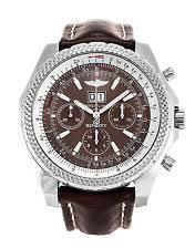 breitling bentley wristwatches breitling bentley 6 75 a44362 watch 100% genuine