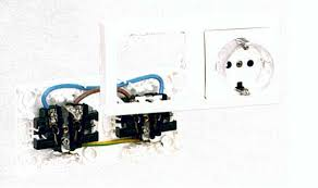 thin wall mounted electrical devices products t tectonica online the double outlet comes wiring already installed