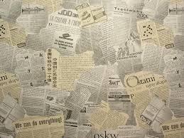 Newspaper wallpaper  Stock Photo