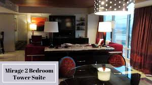 Las Vegas Hotels With 2 Bedroom Suites Mirage Two Bedroom Tower Suite Youtube