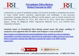 Precipitated Silica Market by End Use Industry, Region ...