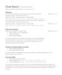Easy To Read Resume Format Best Format And Requirements To Your New