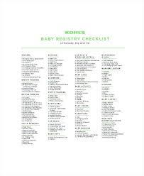 Target Baby Shower Registry List Target Baby Shower Registry