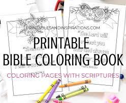 The bible app for kids is so much more than an app. Free Printable Bible Verse Coloring Book Pages Printables And Inspirations