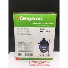 Máy bơm trợ lực nước yếu - Máy bơm nước tuần hoàn Kangaroo KG125ZP | Tự  động tăng áp - Dùng cho sen vòi, máy giặt giảm chỉ còn 850,000 đ