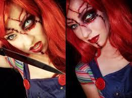 chucky makeup holloween costumes