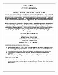 Family Nurse Practitioner Resume Classy Curriculum Vitae Examples For Nurse Practitioners Scheme Of Nurse