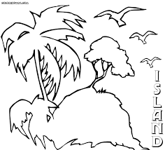 Small Picture Island coloring pages Coloring pages to download and print