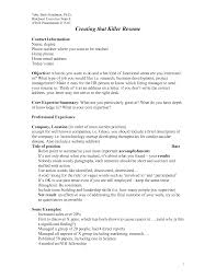 Writing A Killer Cover Letter Haadyaooverbayresort Com