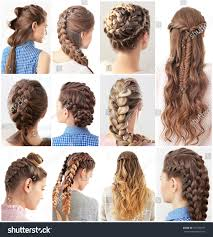 Different Hairstyle Women Different Hairstyles Stock Photo 631997417 Shutterstock 5349 by stevesalt.us