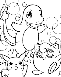 Small Picture Pokemon Charmander Coloring Pages Print Pokemon Charmander