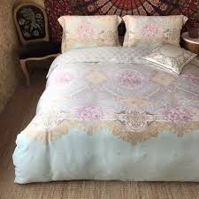 Luxury Designer Bedding Sets Us 137 5 2018 Luxury Silk Place Satin Bedding Set New Designer Bedding Sets Bed Sheet Chinese Wedding Style Queen King Size 4pcs In Bedding Sets