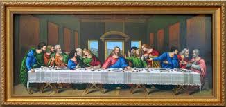 last supper framed wall art