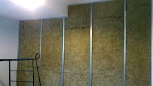 sound insulation for walls. The Photo Illustrates Make-up Of A Sound Proof Wall. It Starts With Insulation For Walls