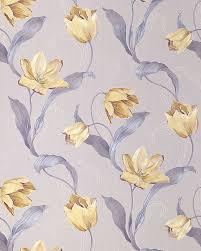 Bloemen Behang Weelderig Tulp Edem 828 22 Patroon Hoogwaardig Behang