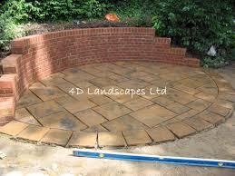 strong retaining wall brick garden designs block cost per