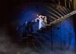 chris mann as the phantom and katie travis as christine daaé