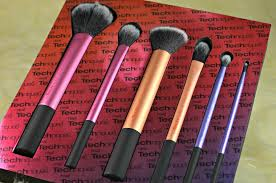 real techniques sam s picks makeup brush set