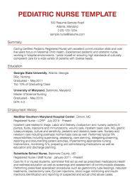 Nursing Resume Templates Word Gnm Format Free Download