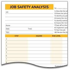 job safety analysis template jsa template rome fontanacountryinn com