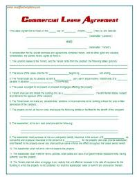 lease contract template 4 lease contract templates for restaurant cafe bakery pdf