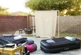 How To Host A Backyard Movie Night  Urban MommiesMovie Backyard