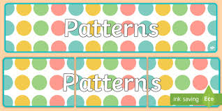 Banner Patterns Simple Patterns Display Banner Patterns Display Banner Display