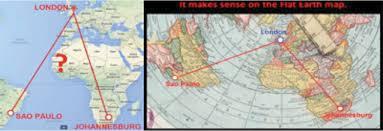 Flat Earth Flight Patterns Unique Debate Argument Flat Earth Vs Globe Earth Debateorg